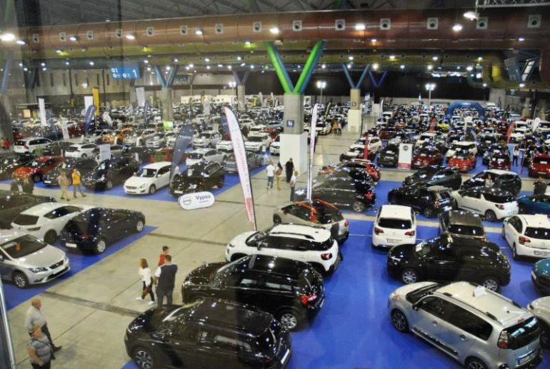 Panorámica parcial de la VI edición Salón del Motor Ocasión Málaga 2017