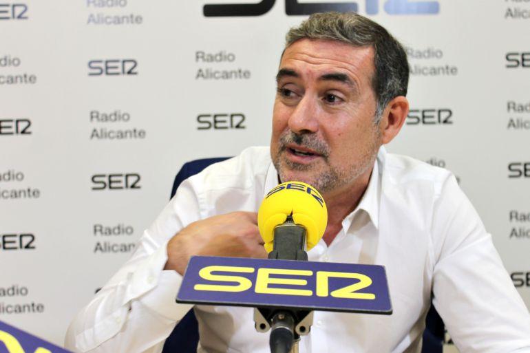 Lalo Díez, vicesecretario general del PSPV-PSOE en Alicante y jefe del Gabinete de Alcaldía en el Ayuntamiento de Alicante