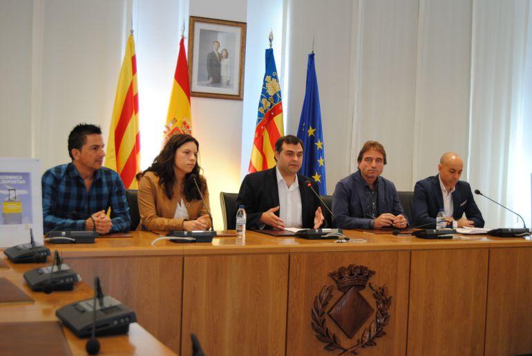 El programa 'Comença a exportar' se acerca a las empresas de la comarca