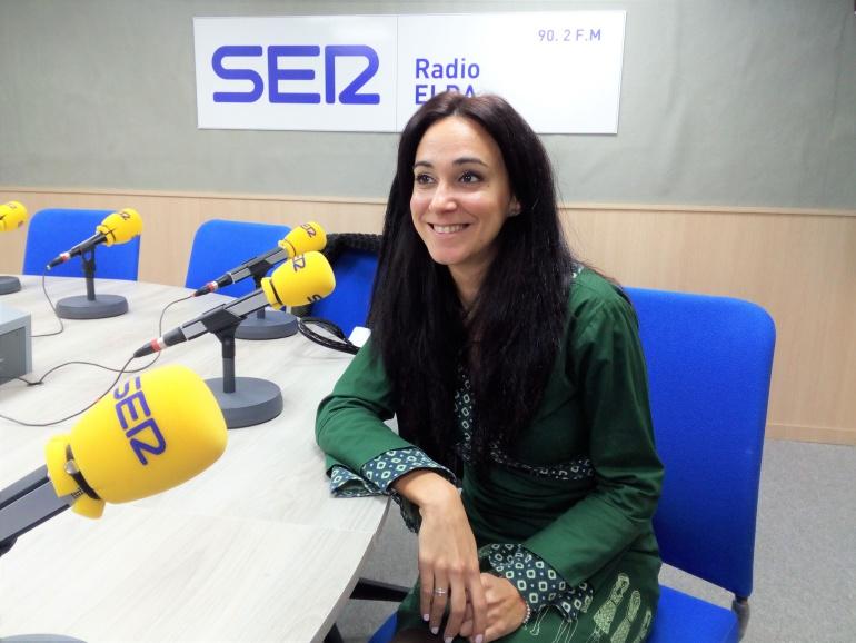 Celia Carbonell en Radio Elda SER