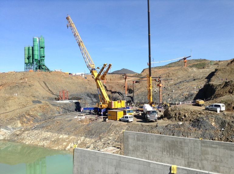 Los usuarios de la presa de Alcolea piden unidad a las administraciones: Los usuarios de la presa de Alcolea piden unidad a las administraciones