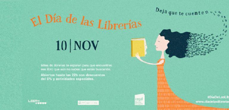 Este viernes se celebra el Día de las Librerías con cineastas y músicos