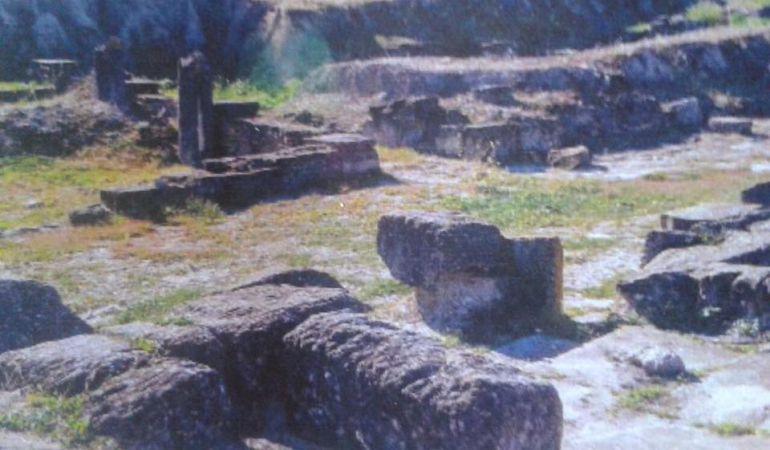 Restos de la ciudad romana de Obulco