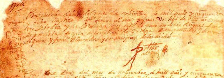 Piden a Alcázar de San Juan renunciar a su partida de bautismo de Cervantes