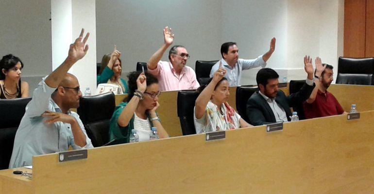 El grupo municipal del PP en San Sebastián de los Reyes (2016)