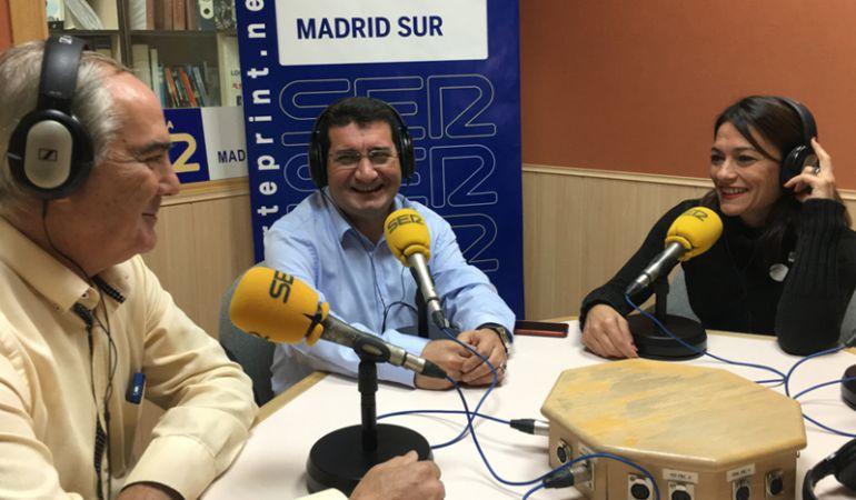 Políticos del sur de Madrid debaten sobre la actualidad de Cataluña.