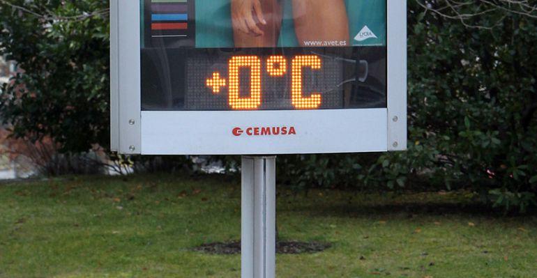 La mínima este jueves ha sido de 0º en varios puntos de la provincia
