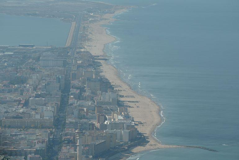 Foto aérea de Cádiz