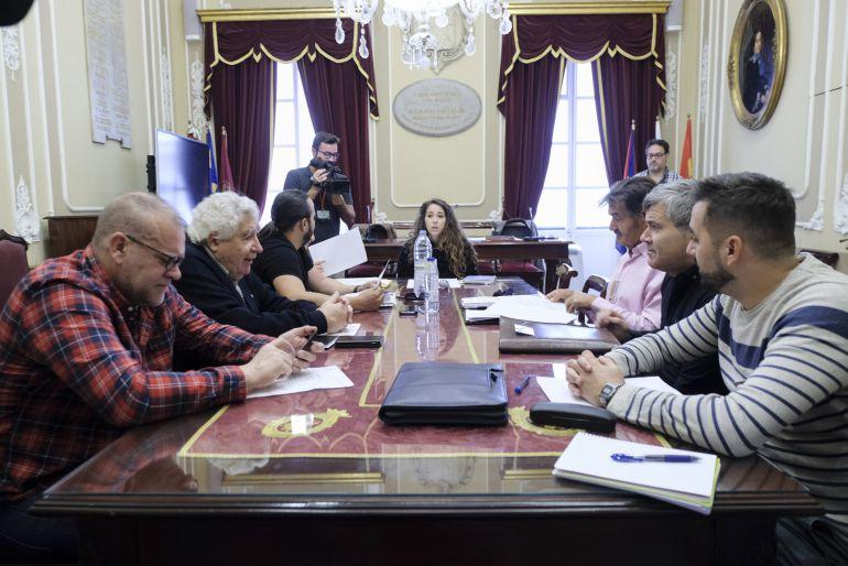 Reunión de la Junta del COAC en la que se ha ratificado el nombramiento
