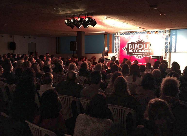 Una de las sesiones de Dijous de Comèdia celebradas durante este 2017.