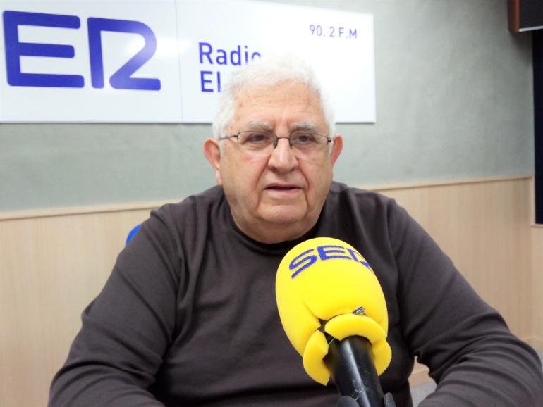 Paco Mañez, autor de La Reendición, en Radio Elda
