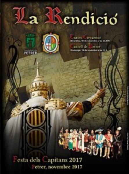 La primera parte de La Rendición se representará este viernes a las 22:30 h en el Teatro Cervantes de Petrer