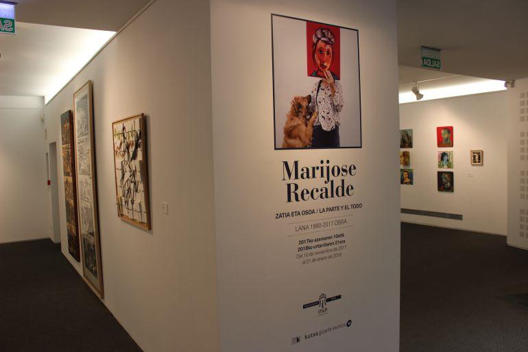 Mari Jose Recalde cierra el programa de exposiciones del año en la Sala Menchu Gal