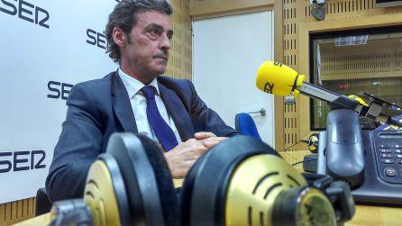 Antonio Sánchez Solís en una de sus visitas a los estudios de Radio Murcia-Cadena SER
