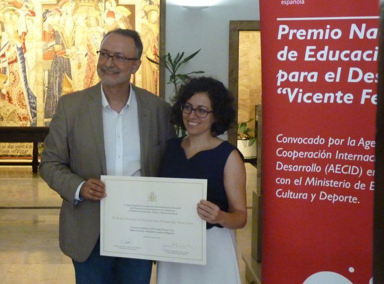 El IES Diego Tortosa, premio nacional por su trabajo con los refugiados