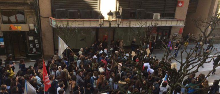 la protesta estudiantil se celebrará el día 16