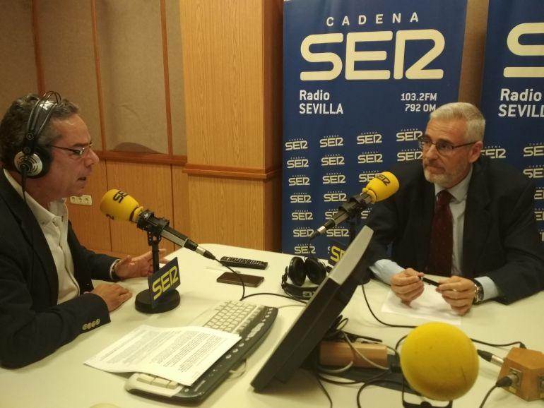 Salomón Hachuel y José Manuel García Quiles