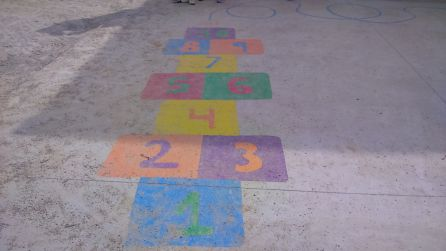 CEIP Max Aub estrena patio infantil coeducativo