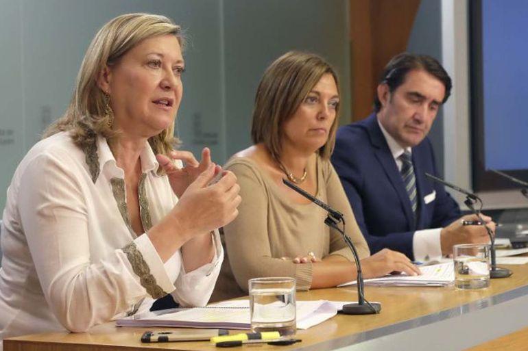Pilar del Olmo, consejera de Economía, presenta la Estrategia de Recursos MInerales de Castilla y León tras la celebración del Consejo de Gobierno