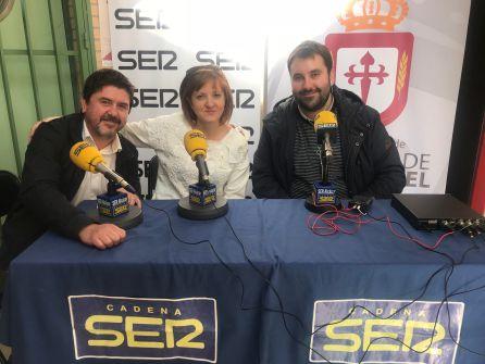 Alberto Tostado, Alejandrina Ruíz y Carlos Abengózar