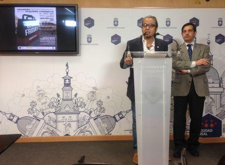 José Luis Herrera y José María Cabanes en la presentación de la campaña Black Friday 2018