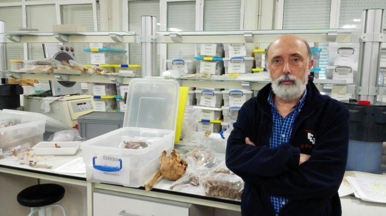Francisco Etxeberria, antropólogo forense