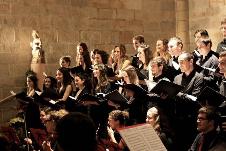 Pese a su juventud, muchos de los miembros del Coro Juvenil de Leioa llevan más de una década ofreciendo conciertos y recitales