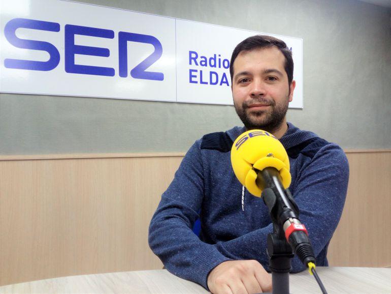 José Manuel Teruel, miembro de la asociación por la cultura moderna en Elda, (ACME) en Radio Elda Cadena SER