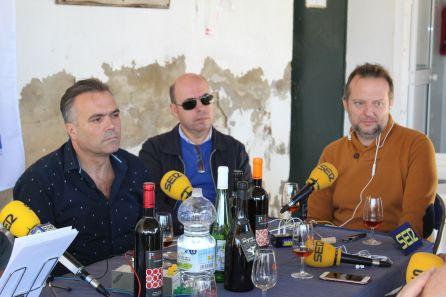Manuel García Félix, Javier Rubio y Mario Garay