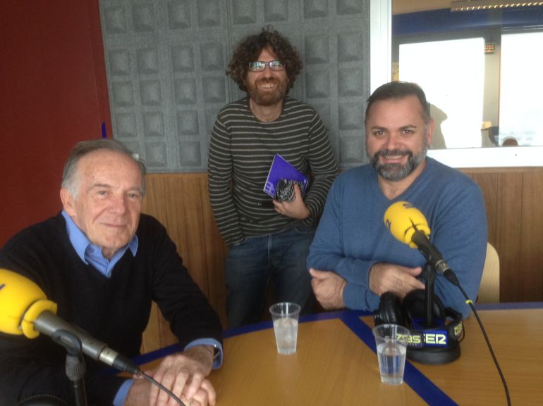 Julio Herranz, Alberto Ferrer y Joan Miquel Perpinyà