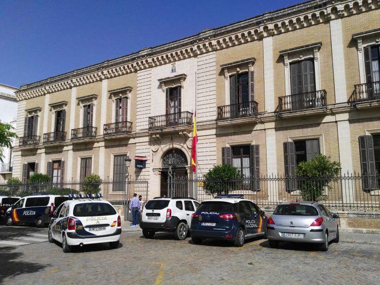 Imagen de la comisaría de la Policía Nacional de Jerez