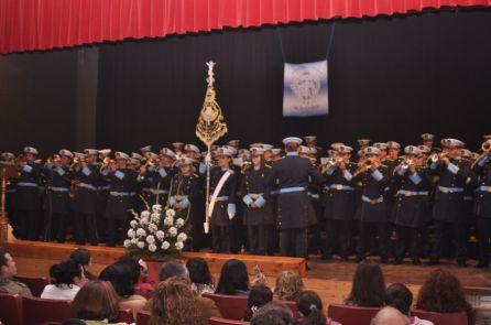 La Banda de La Asunción en una de sus actuaciones
