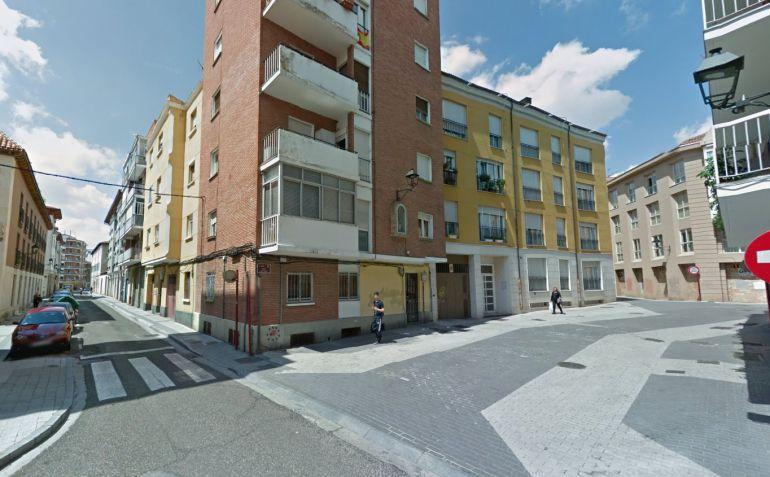 Una de las zonas de Palencia por las que transcurre la Calle Mayor Antigua de Palencia