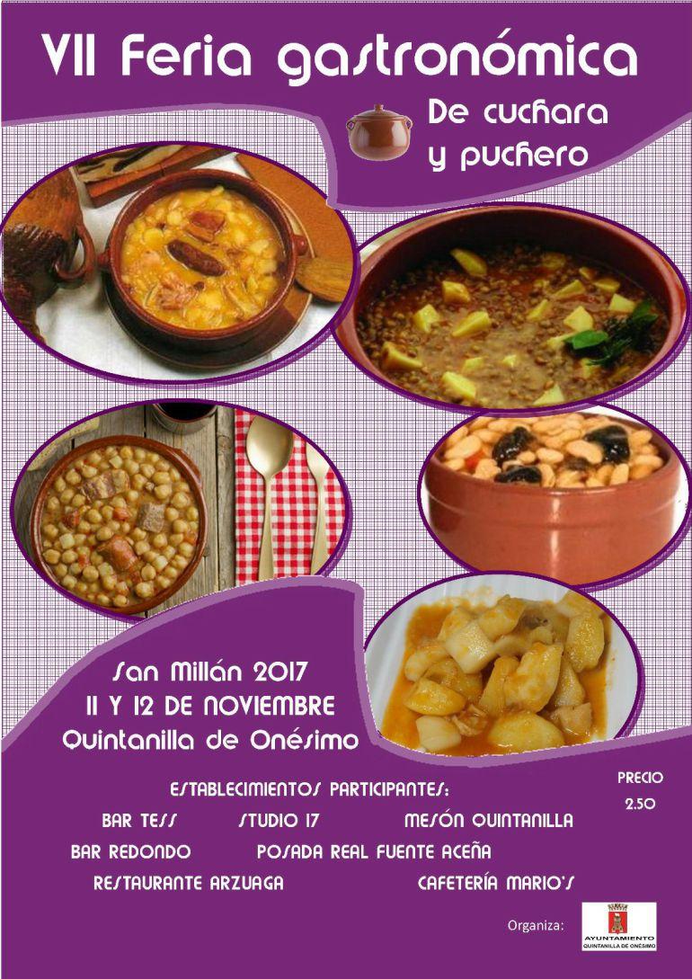 Cartel de las jornadas gastronómicas