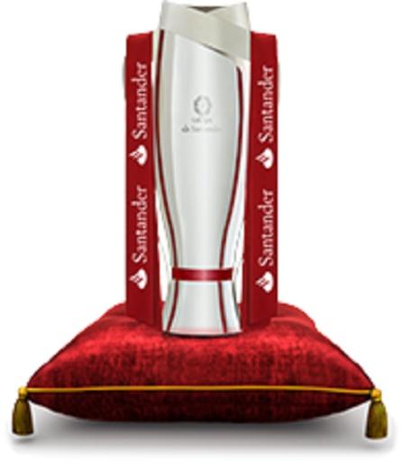 Todo el que quiera podrá pasarse para ver y fotografiarse con la auténtica copa de la Liga española de fútbol de Primera División, la entrada es gratuita