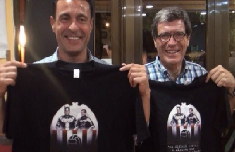 Amadeo Salvo y Aurelio Martínez.