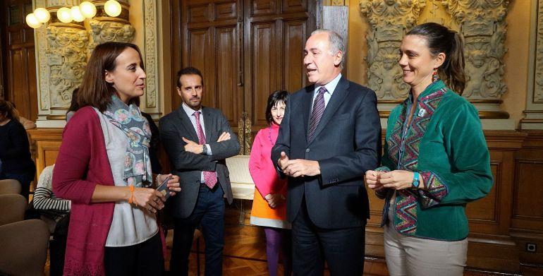 Presentación de la iniciativa en el Ayuntamiento de Valladolid
