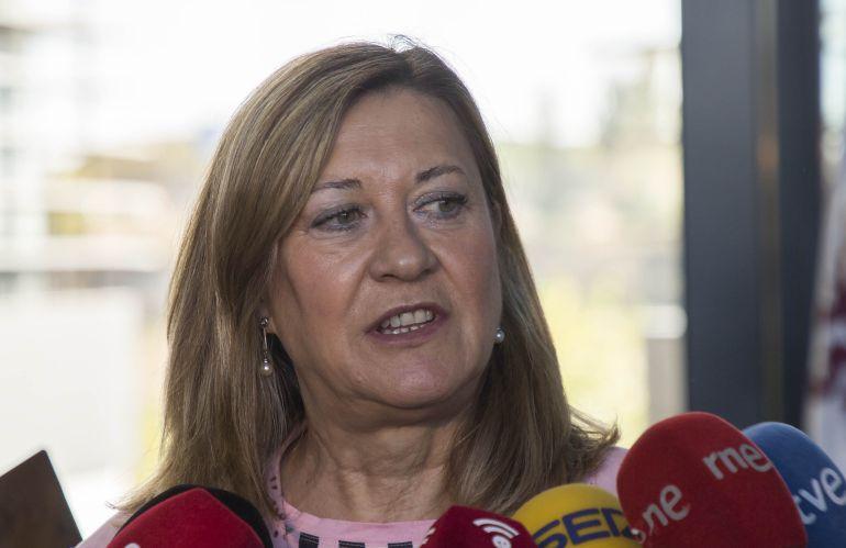 Imagen de Pilar del Olmo, consejera de Economía y Hacienda de la Junta de Castilla y León