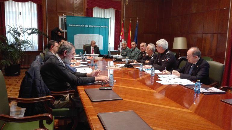 Reunión de la Comisión Provincial de Tráfico