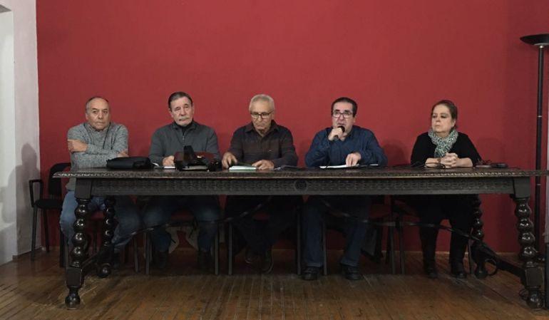 El movimiento local en defensa del sistema público de pensiones lo integran sindicatos, partidos políticos de izquierdas y asociaciones cívicas del municipio