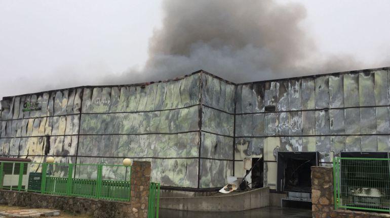 El humo está provocando molestias en Vicolozano