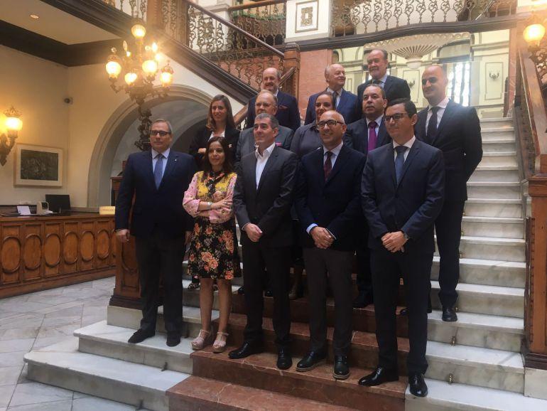 """Fernando Clavijo: """"La Unión Europea respalda el trabajo bien hecho con la Ley del Suelo"""""""
