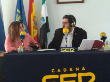 Un momento del programa Hoy por Hoy Norte de Extremadura desde San Gil