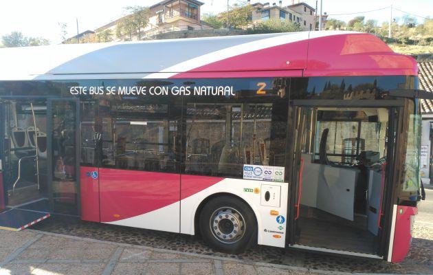 El 80 % de los autobuses urbanos de Toledo ya se mueven con gas natural
