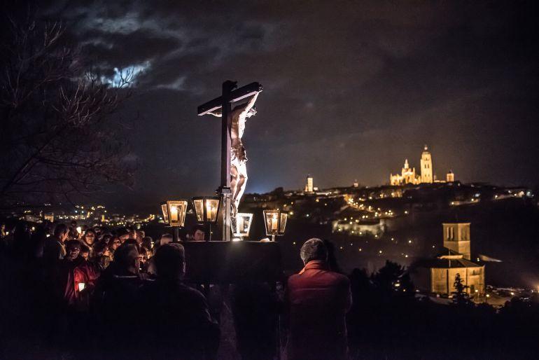 Via Crucis Miércoles Santo en la huerta de los Carmelitas