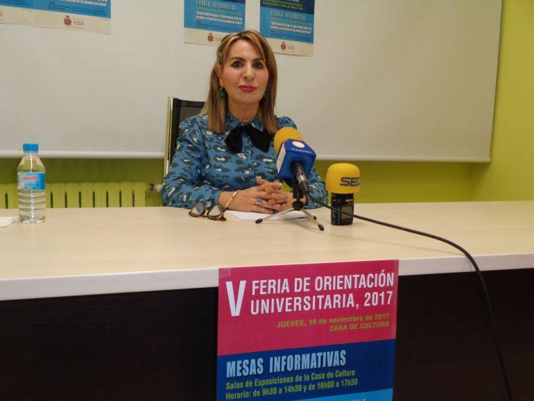 Azucena Esteban es la concejal de Cultura y Educación