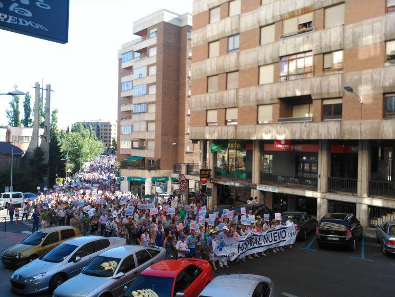 Imagen de la manifestación del 17 de junio
