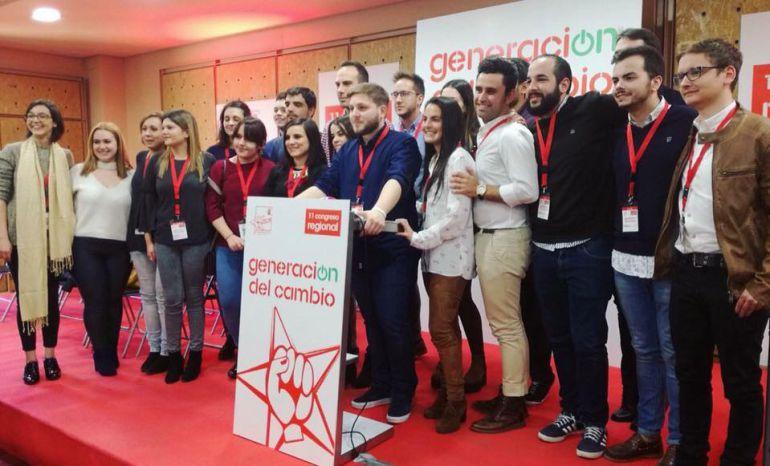 Cinco jóvenes de La Mancha entran en la Ejecutiva regional de JJSS