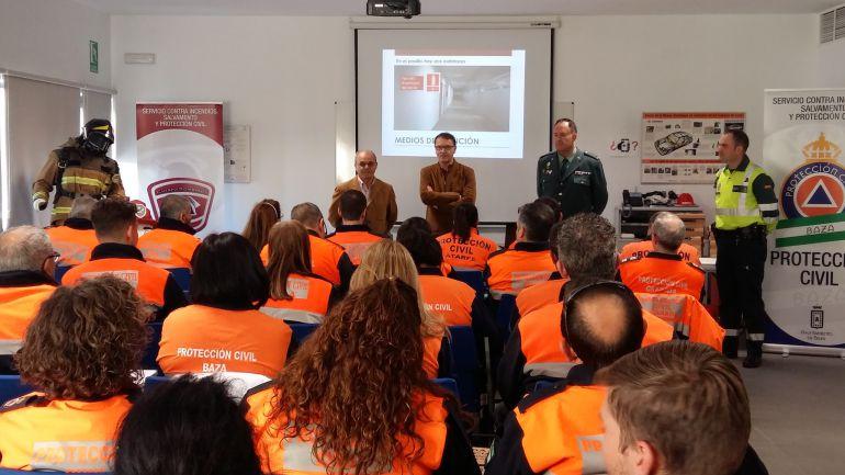 Formación de voluntarios de Protección Civil