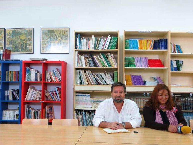 Francisco José Román y María Eugenia Vílchez